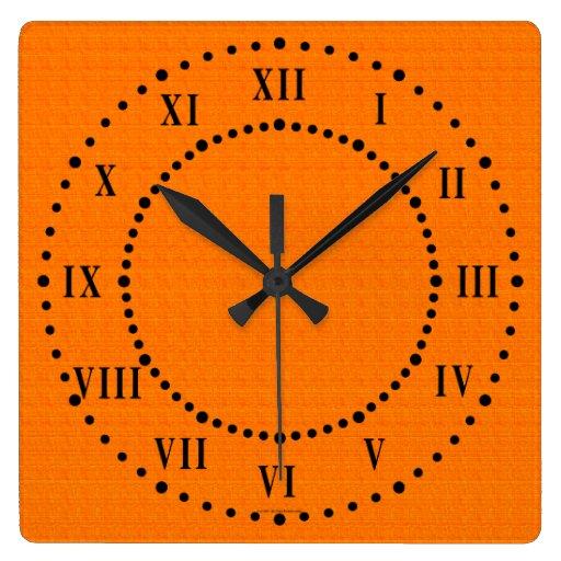 Horloge murale de chiffre romain de sembler de sat zazzle - Horloge murale chiffre romain ...