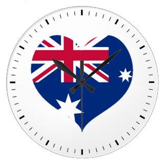 Horloge murale de coupe-circuit de coeur de