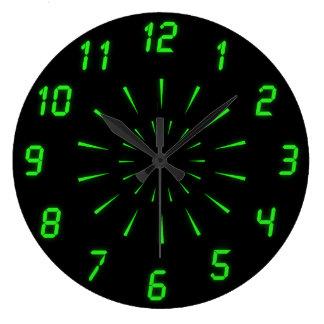Horloge murale de Cyberdelic