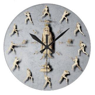 Horloge murale de Fiore dei Liberi