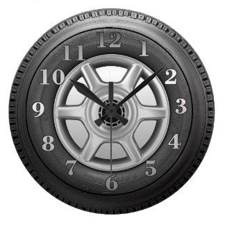 Horloge murale de la nouveauté des hommes de pneu