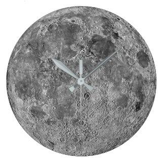 Horloge murale de lune