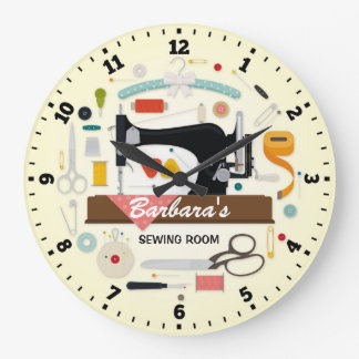 Horloge murale de Personalizable de machine à