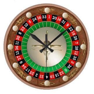 Horloge murale de roulette