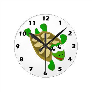 Horloge murale de tortue