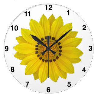 Horloge murale de tournesol