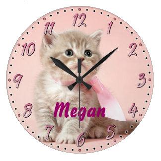 Horloge murale décorative de Personalizable de