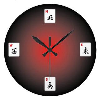 Horloge murale d'heure-milliampère Jongg