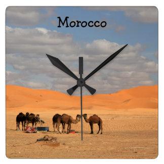 Horloge murale du Maroc