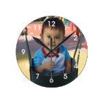 Horloge murale faite sur commande personnalisée de