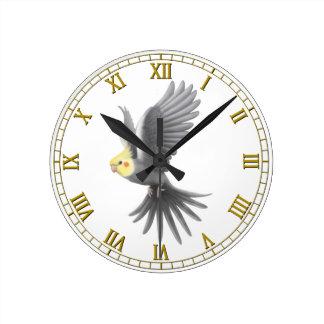 perroquet horloges perroquet horloges murales. Black Bedroom Furniture Sets. Home Design Ideas