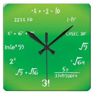 Horloge murale - horloge d'interro-surprise de