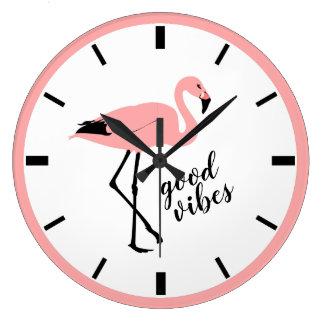 Horloge murale mignonne de bon de vibraphone de