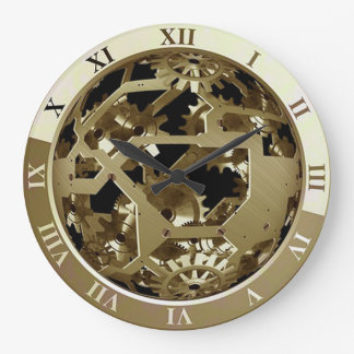 Horloge murale montrant les vitesses et le