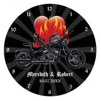 moto horloges moto horloges murales. Black Bedroom Furniture Sets. Home Design Ideas