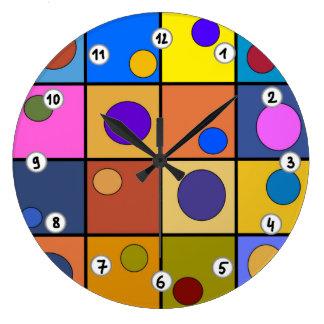 Horloge murale ronde Fantaisie