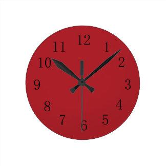 Murale de cuisine horloges murale de cuisine horloges murales for Horloge murale cuisine rouge