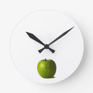 Horloge murale verte d'Apple