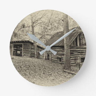 Horloge murale vintage de ferme