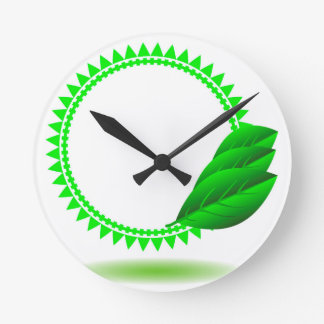 Horloge Ronde 100Green Icon_rasterized
