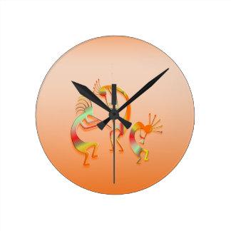 Horloge Ronde 3 Kokopelli #51
