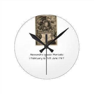 Horloge Ronde Alessandro Ignazio Marcello