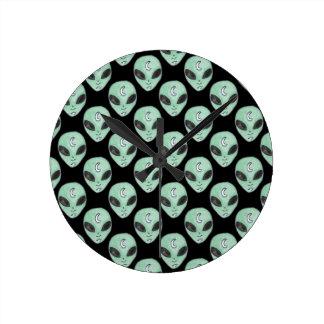 Horloge Ronde aliens