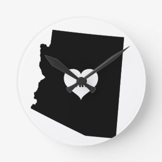 Horloge Ronde Amour de l'Arizona