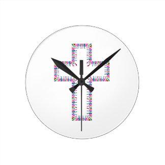 Horloge Ronde Amour le Christ