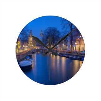 Horloge Ronde Amsterdam, photographie néerlandaise