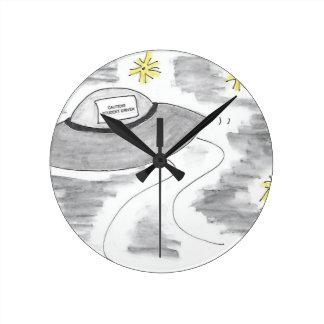 Horloge Ronde Anniversaire d'UFO