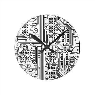 Horloge Ronde Artificiel-Influence