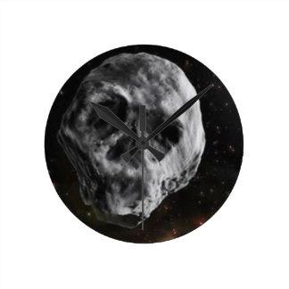 Horloge Ronde Asteroïde de sort malheureux