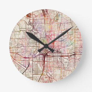 Horloge Ronde atlanta map painting