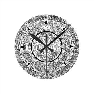 Horloge Ronde aztec_calender