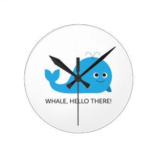 Horloge Ronde Baleine, bonjour là !