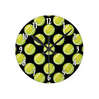 Horloge Ronde Balles de tennis