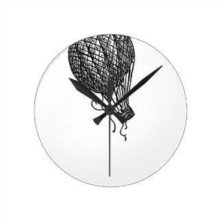 Horloge Ronde ballon