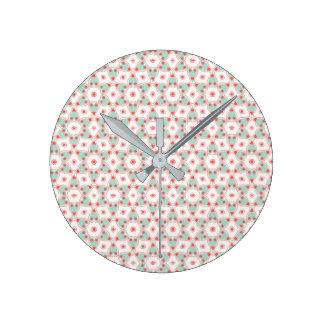 Horloge Ronde Beau motif V01A