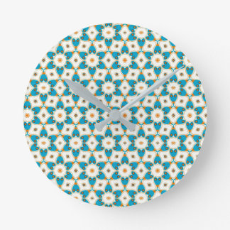 Horloge Ronde Beau motif V01F
