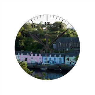 Horloge Ronde Beau Portree Ecosse