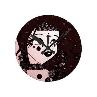Horloge Ronde Beauté de perle