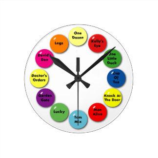 Horloge Ronde Bingo-test d'horloge !