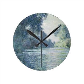 Horloge Ronde Branche de Claude Monet | de la Seine près de