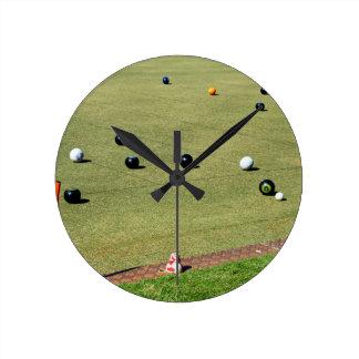 Horloge Ronde Bring_It, _Lawn_Bowls, _
