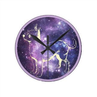 Horloge Ronde Cadeaux de chiwawa