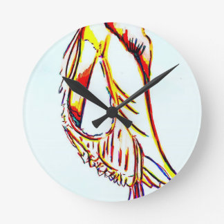 Horloge Ronde Cephalopodous Oceanus Sapiens par la luminosité