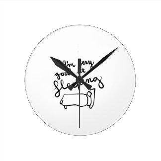 Horloge Ronde Chemises de Sleepyhead, accessoires, cadeaux