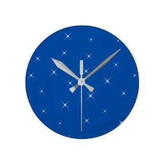 Horloge Ronde Ciel nocturne