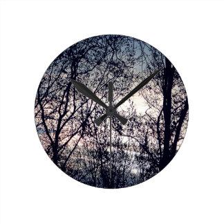 Horloge Ronde Clair obscur